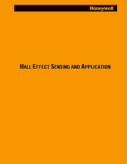 HONEYWELL - Hall Effect Sensing and Application 1998